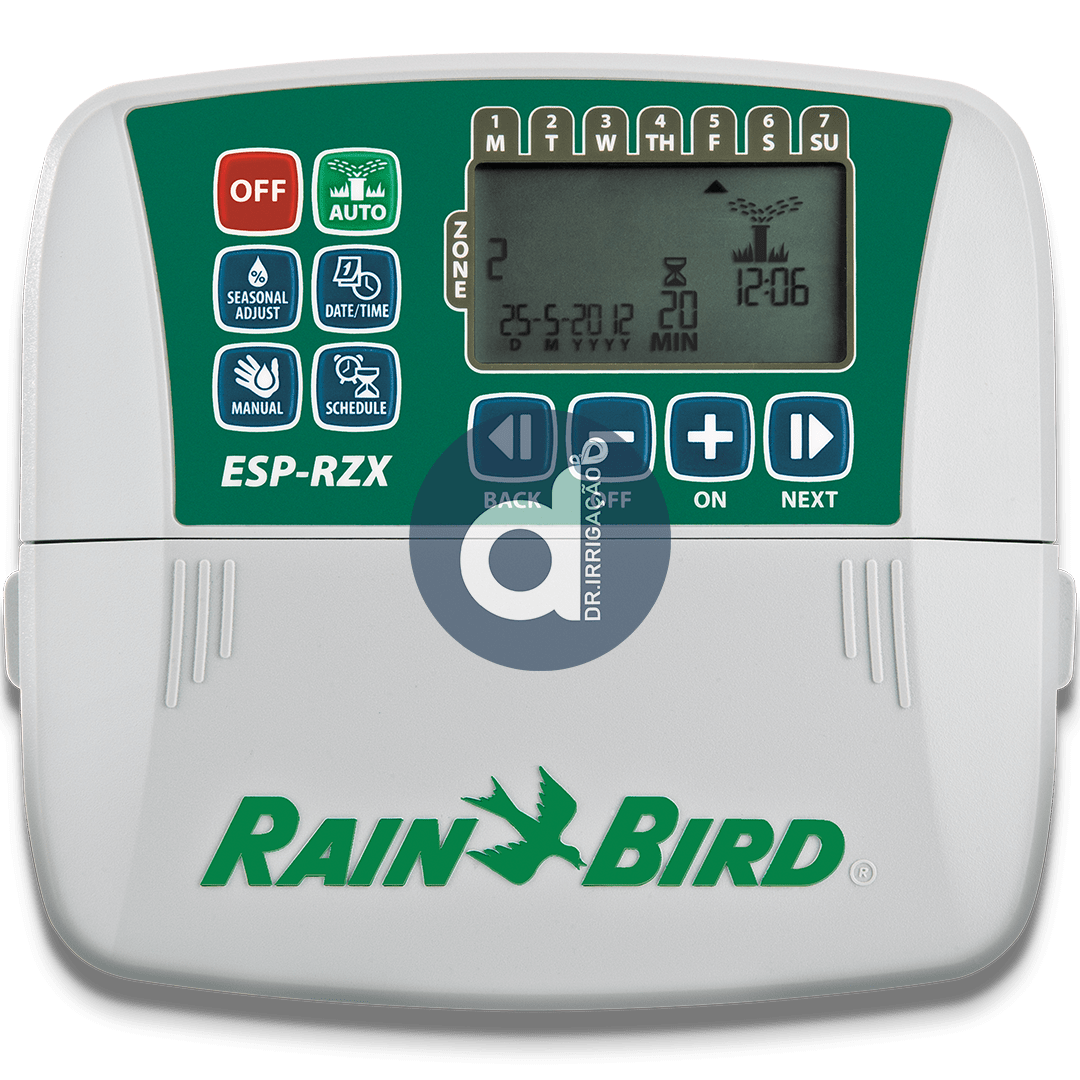 Controlador Rain Bird Esp Rzx-e 4, 6 e 8 Estações WIFI Indoor 230v
