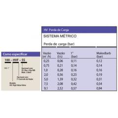 Válvula Elétrica HV 1 Pol automação de irrigação/jardim/agrícola