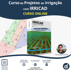 Curso Online de Projeto de Irrigação com IRRICAD