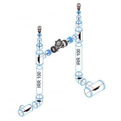 Blocos de Irrigação Dinâmico e Isométricos para AutoCad 2D