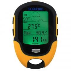 Barômetro Altímetro Digital Com Bússola Multifunções Sunroad