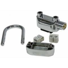 Cadeado Com Alarme Antifurto Resistente A Água / 03 Unidades