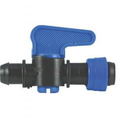 Registro Inicial 16mm C/anel Fita Gotejador Irrigação (kit 20unid)
